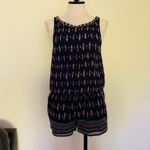 Joie navy blue romper size small